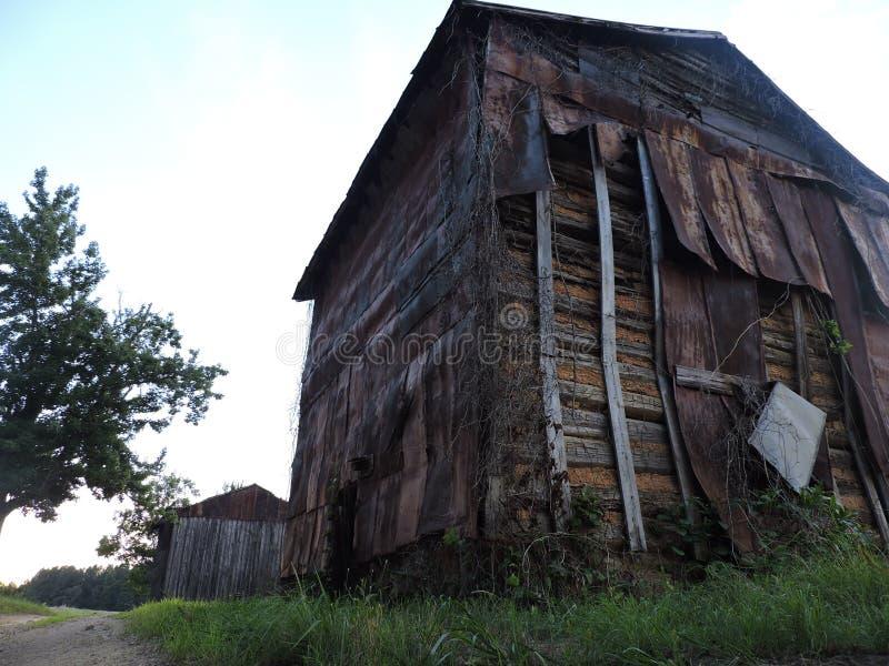 Blairs Virginia Tobacco Barns royalty free stock photography