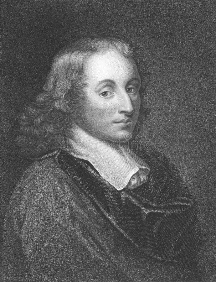 Blaise Pascal immagine stock