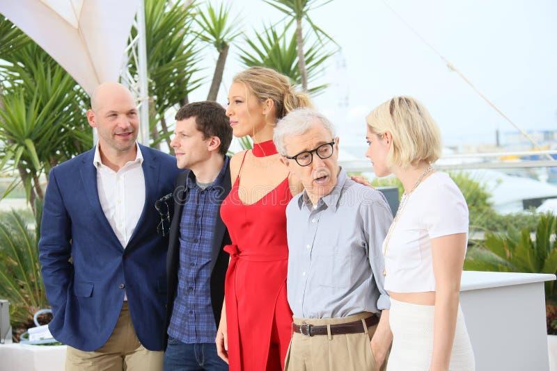 Blake Lively , Kristen Stewart, Woody Allen stock photo