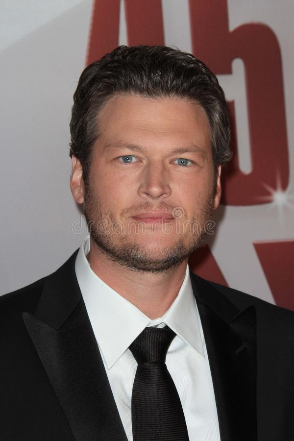 Blake Shelton. At the 2011 CMA Awards, Bridgestone Arena, Nashville, TN 11-09-11 royalty free stock photography