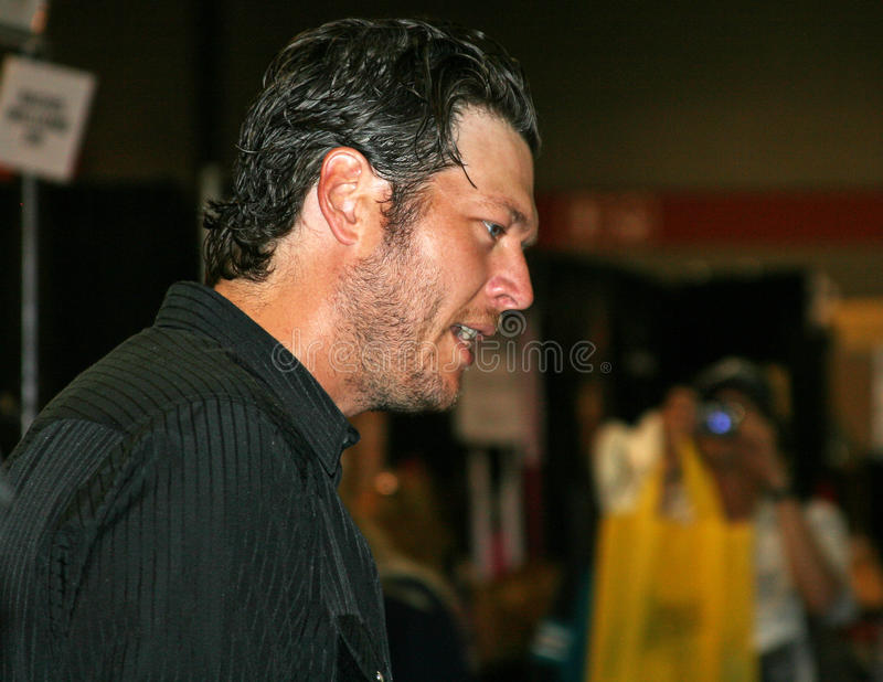 Blake Shelton - CMA Festival 2009 royalty free stock photography