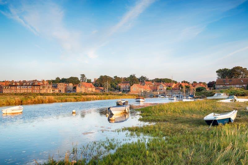 Blakeney en Norfolk foto de archivo libre de regalías