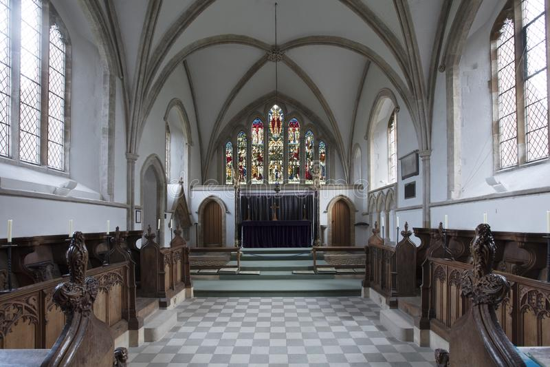 Blakeney, Norfolk, UK - το Δεκέμβριο του 2016, ιερό Άγιου Βασίλη στοκ φωτογραφίες