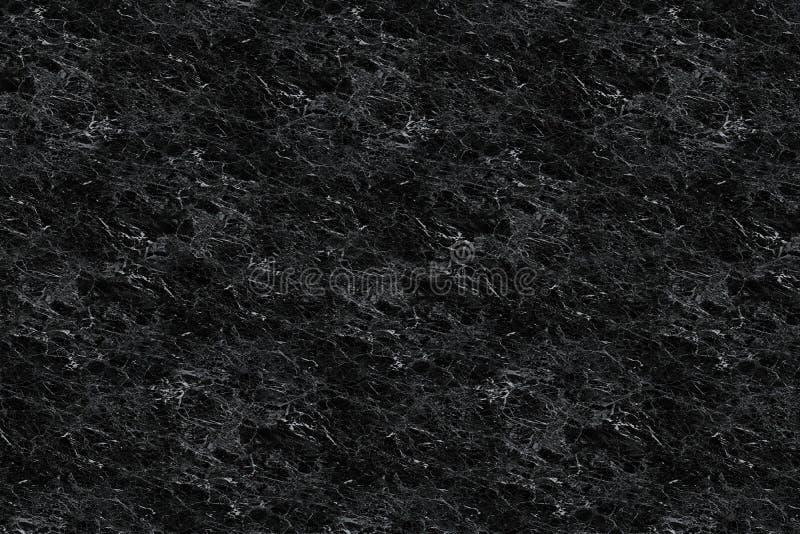Blalck大理石在上流的样式纹理 免版税库存图片