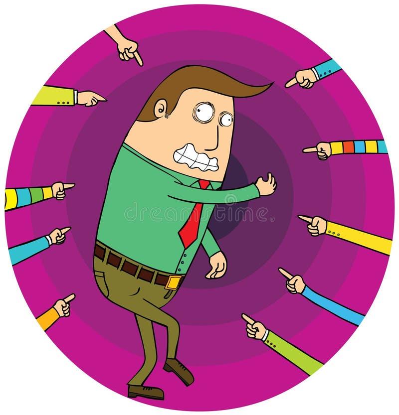 Download Blaming stock vector. Illustration of frustration, hands - 27365567