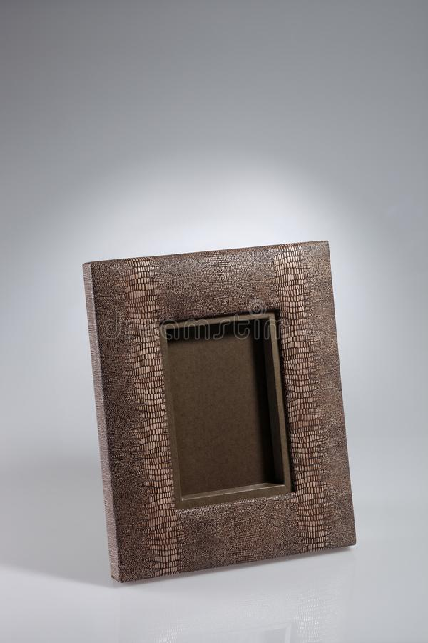 Blamk picture frame royalty free stock photos