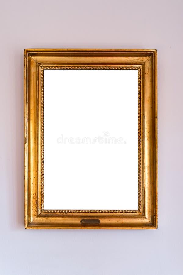 Blanc élégant de cadre photos stock