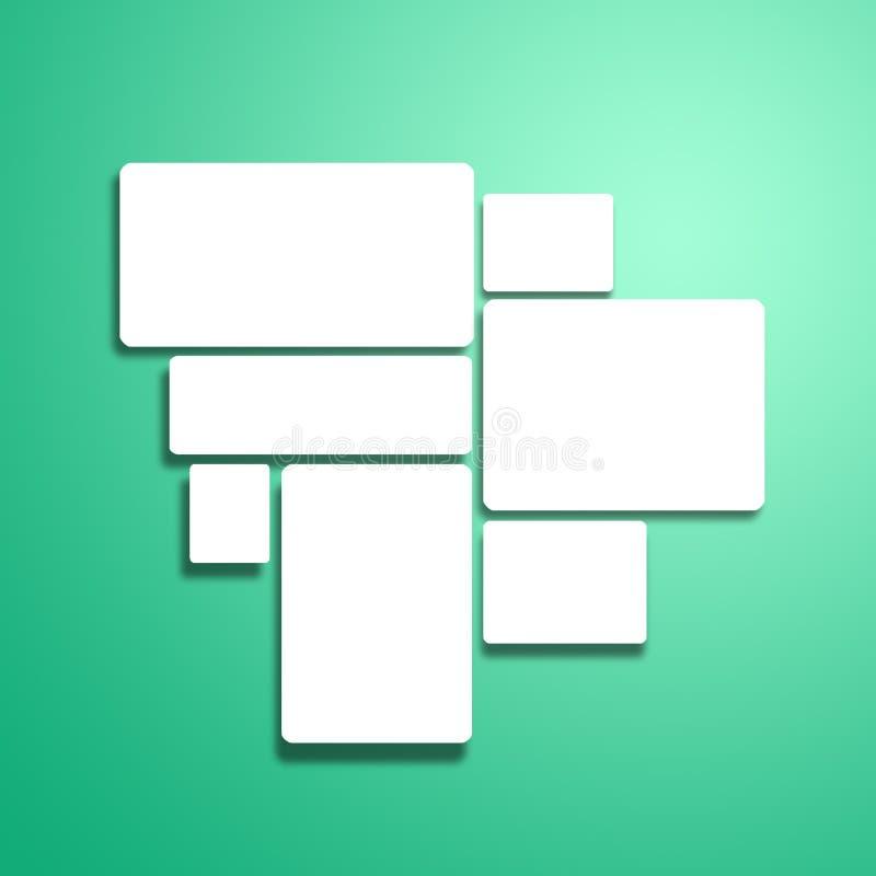 Blanc illustration de vecteur