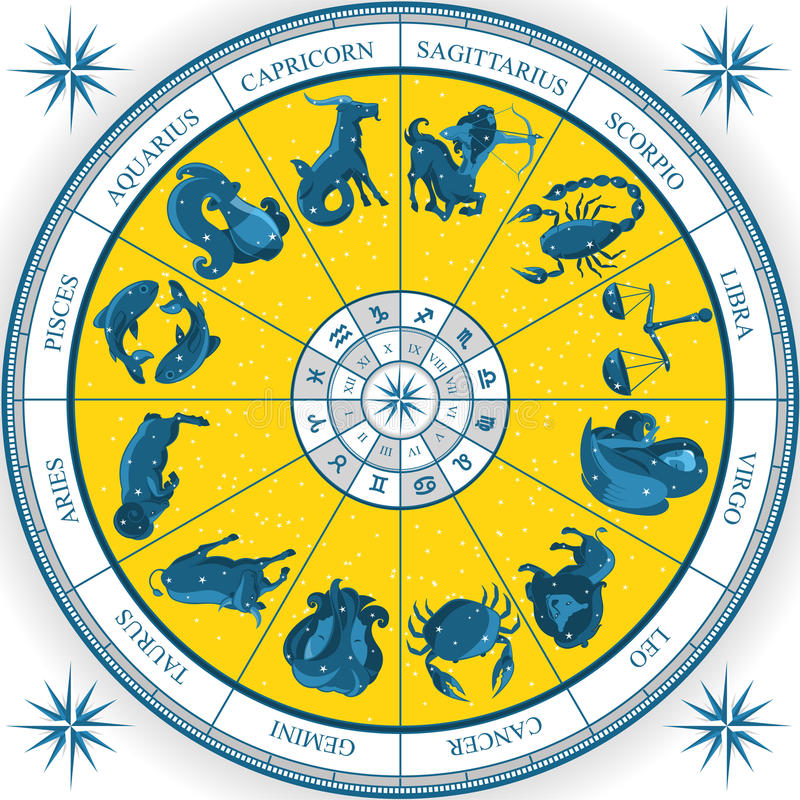 Blanc astral de diagramme illustration stock
