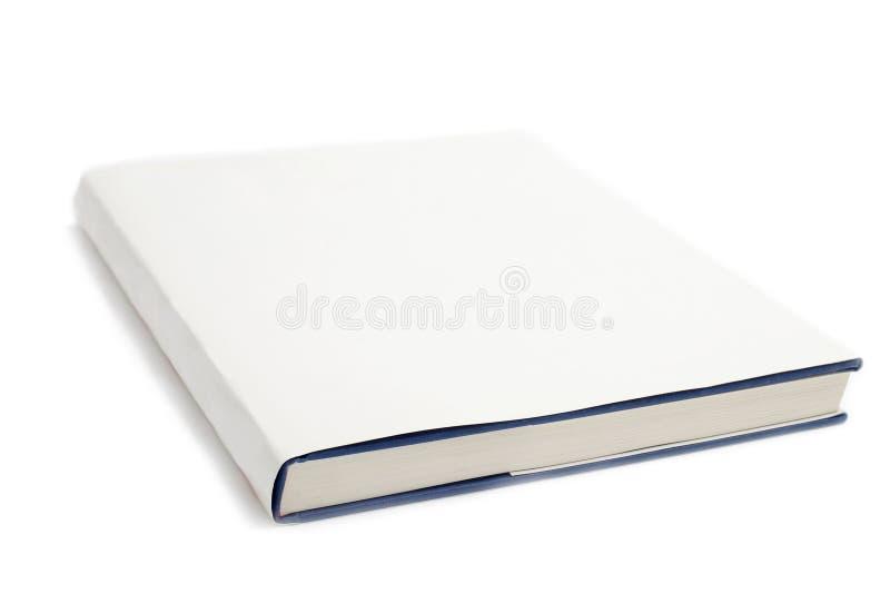 Blanc blanc de cache de livre photographie stock libre de droits