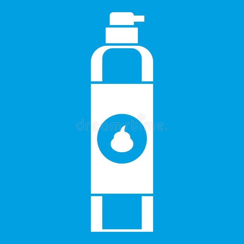 Blanc d'icône de parfum d'ambiance illustration stock