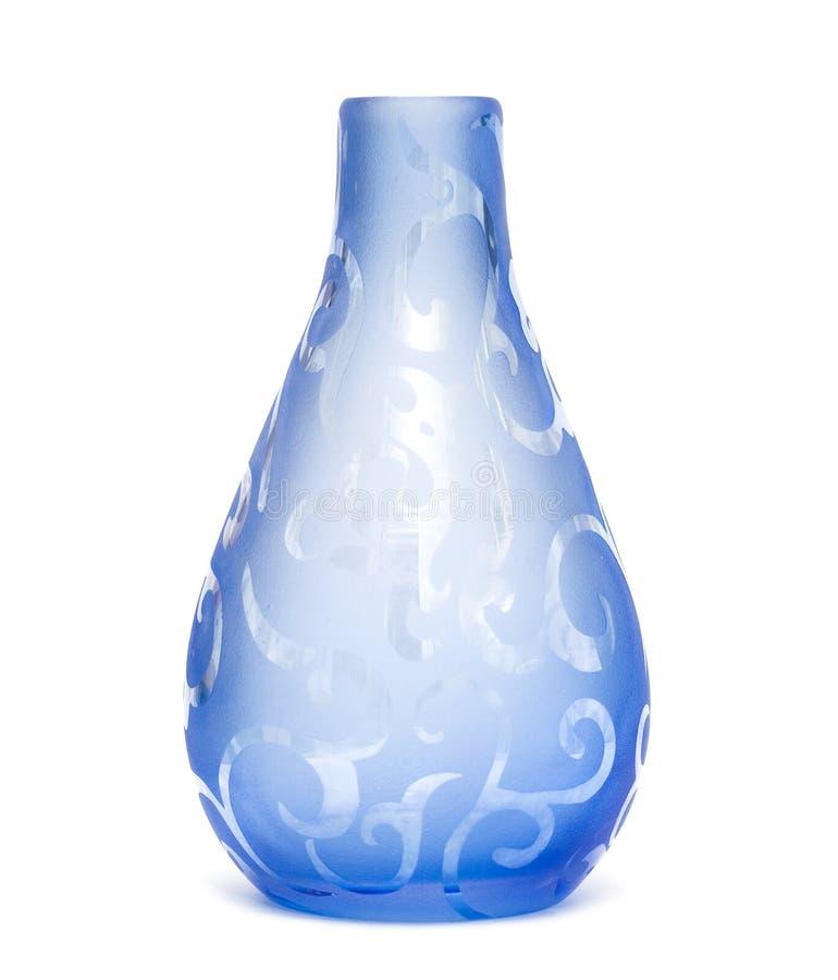 blanc d'isolement de vase photos stock