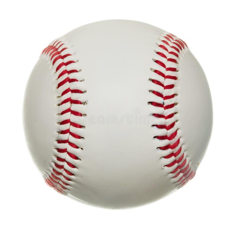 blanc d'isolement par base-ball de fond image stock