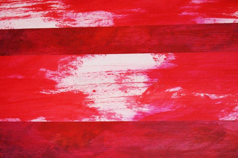 Blanc dans le rouge images stock