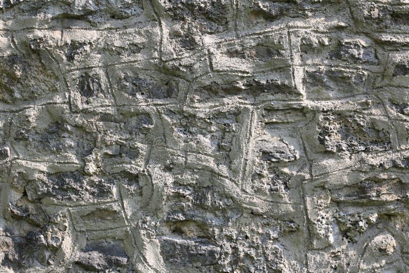 Blanc de fond de texture de mur en pierre image stock