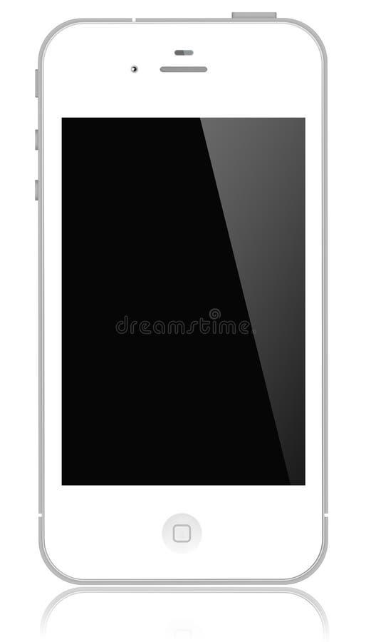 Blanc de l'iPhone 4s d'Apple