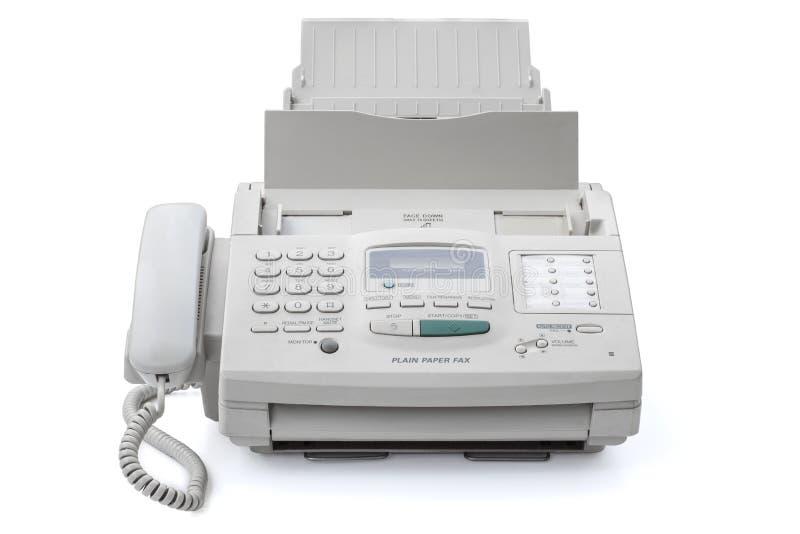 blanc de machine d'illustration de fax de fond photographie stock libre de droits