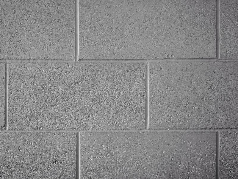 Blanc de mur de bloc photographie stock
