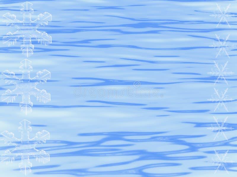 blanc de neige d'éclailles illustration de vecteur