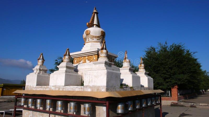 blanc de pagoda images libres de droits