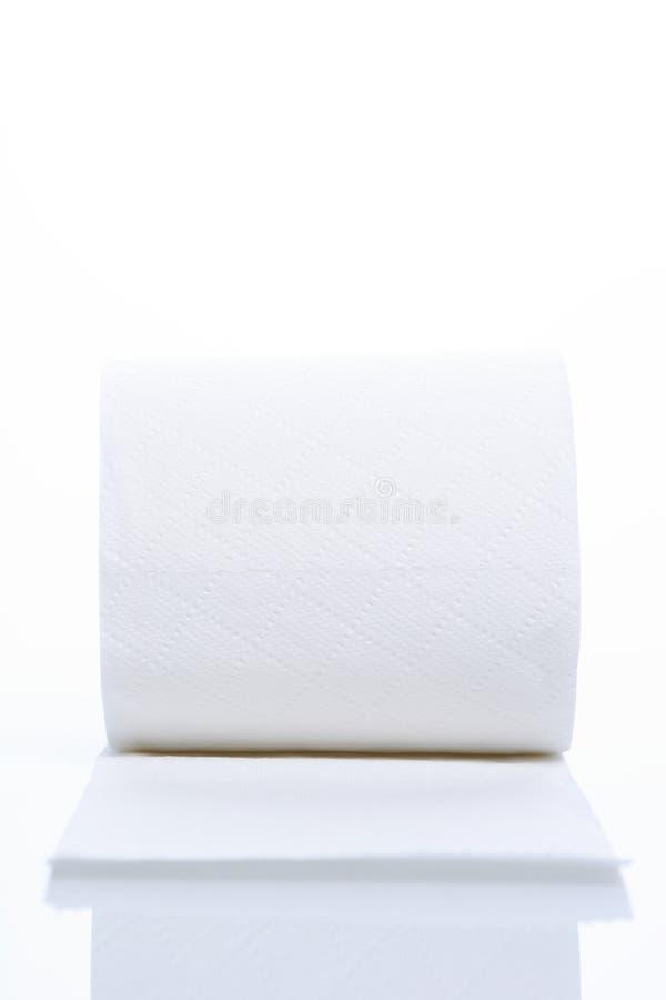 blanc de papier de toilette photos stock