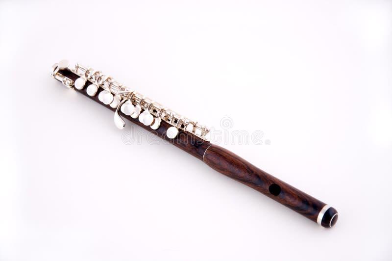blanc de petite flûte de fond image stock