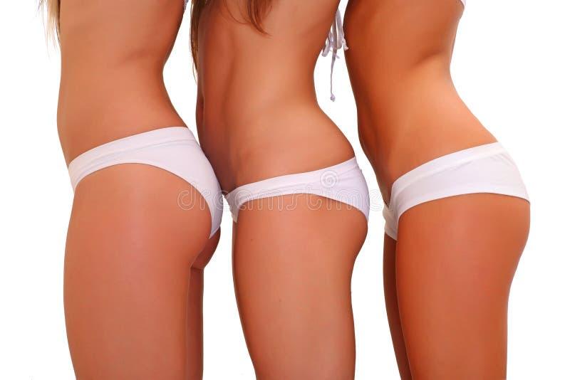 blanc de sous-vêtements photographie stock