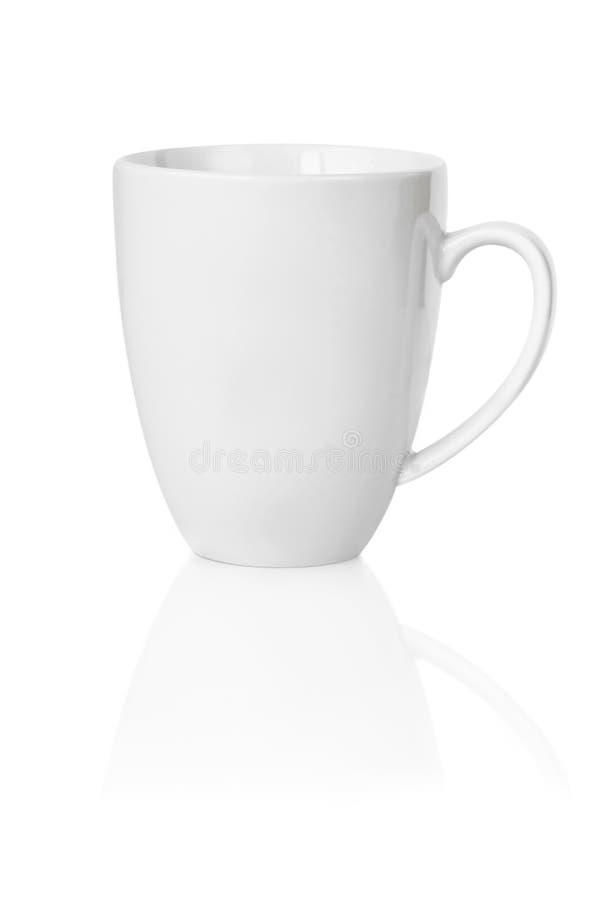 blanc de tasse de café images libres de droits