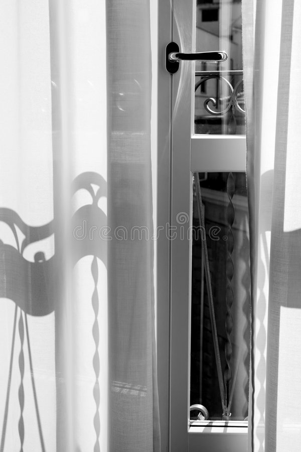 blanc intérieur noir photo libre de droits
