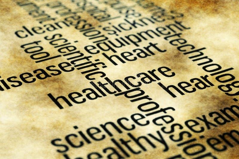 blanc médical d'isolement par soins de santé de fond illustration libre de droits
