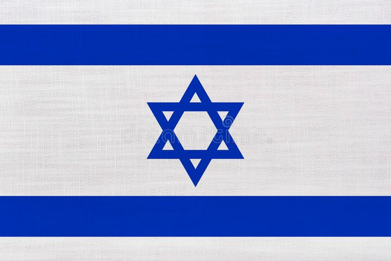 blanc national de l'Israël d'illustration d'indicateur de fond images libres de droits