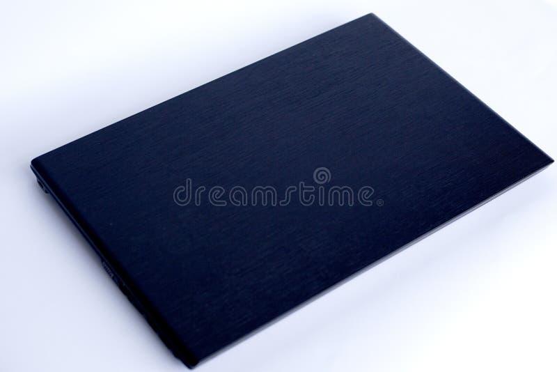 blanc noir d'ordinateur portatif d'illustration d'ordinateur de fond images stock