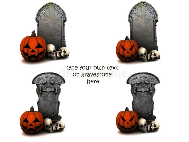 Blanc pour Halloween images libres de droits