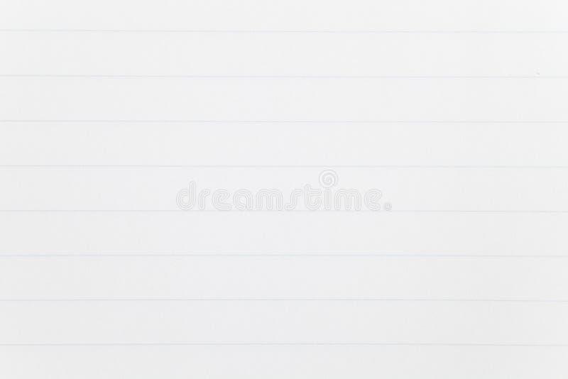 blanc rouge ci-joint de broche de papier de note d'information photo stock