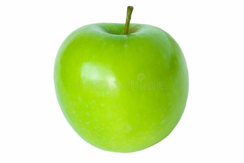 blanc simple d'isolement vert pomme photos libres de droits