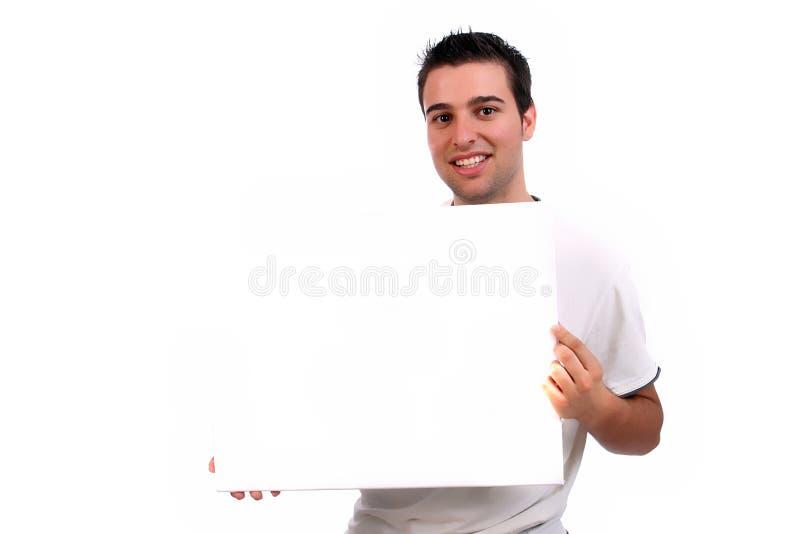 blanc vide d'homme de carte de visite professionnelle de visite images libres de droits
