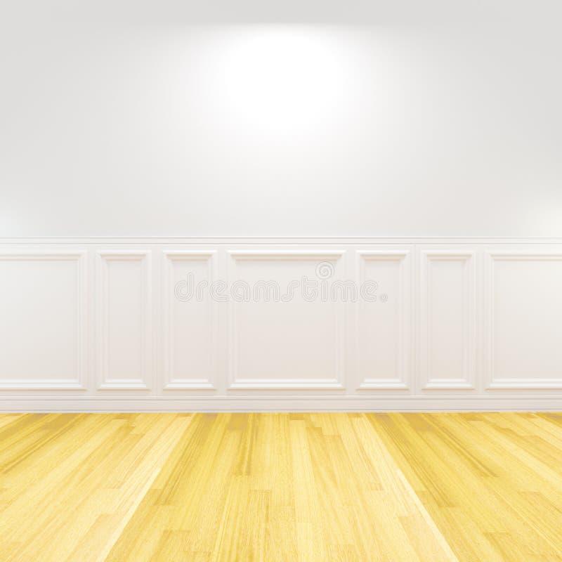 Blanc vide de pièce décoré illustration libre de droits