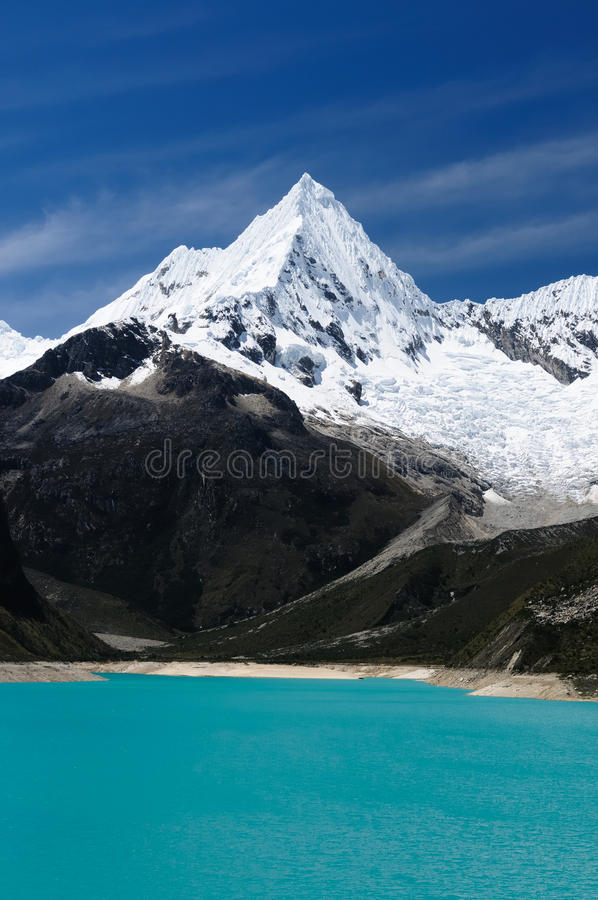 blanca山脉秘鲁 免版税图库摄影