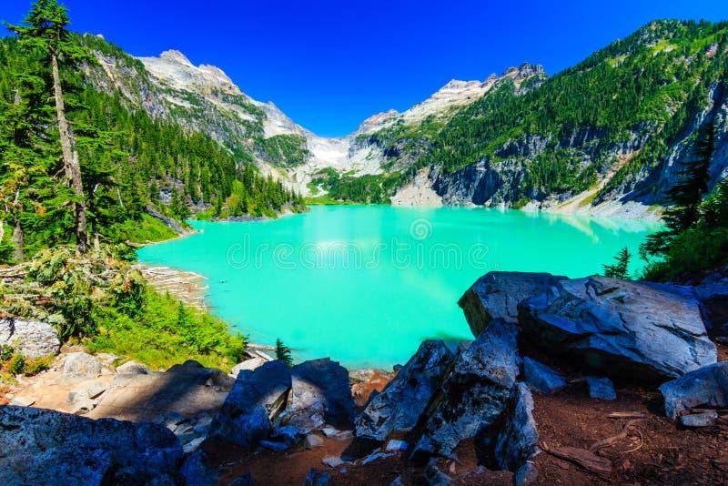 Blanca湖 免版税图库摄影