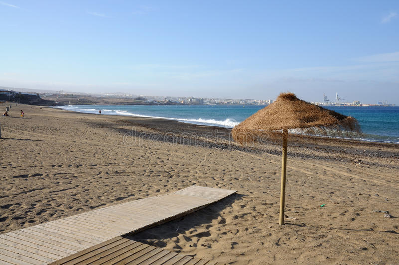 blanca费埃特文图拉岛playa西班牙 库存照片