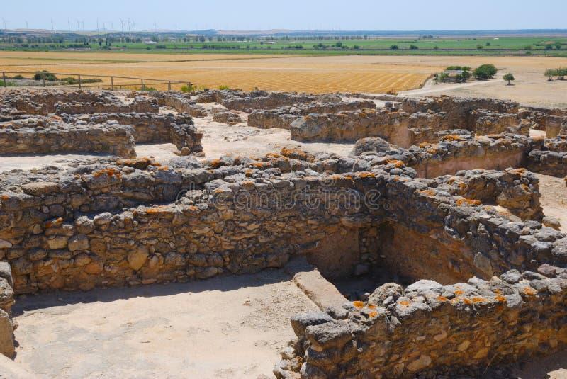 BLANCA Archaeological de Doña do local imagem de stock