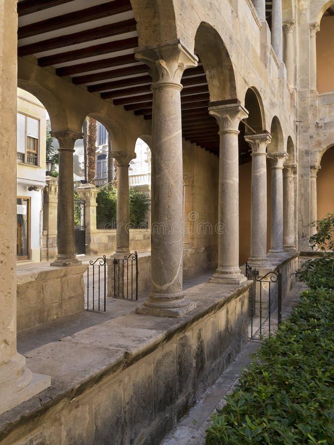 blanca cloisters costa Orihuela Spain zdjęcia stock