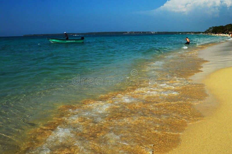 BLANCA Colômbia de Playa imagens de stock royalty free