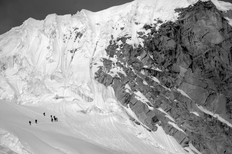 blanca cordiliera góry fotografia stock
