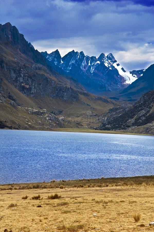 blanca Cordillera góry fotografia royalty free