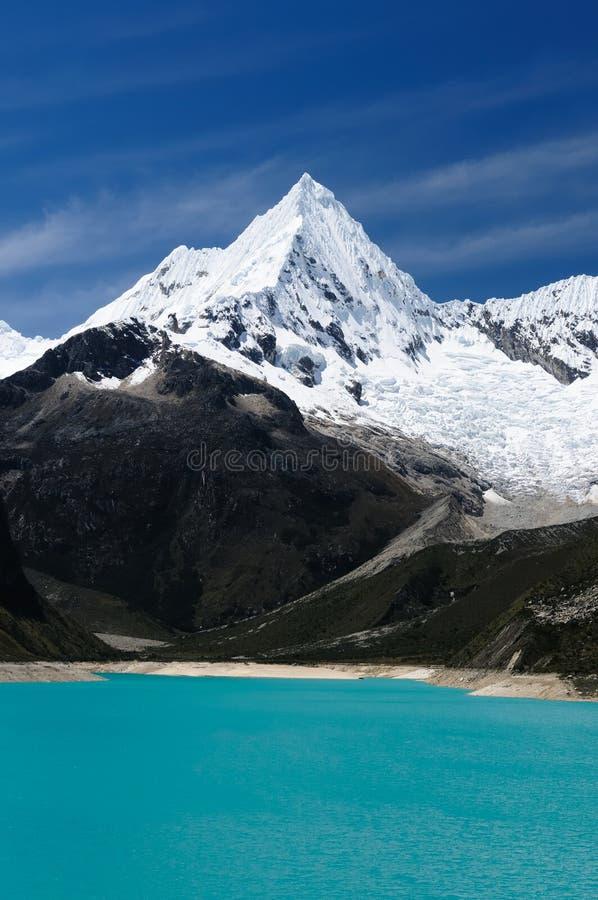 blanca Cordillera Peru fotografia royalty free
