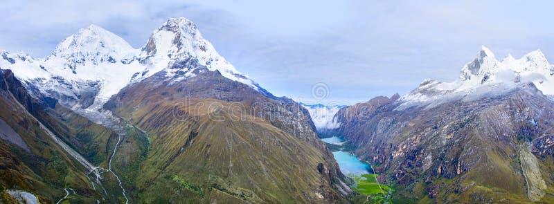 BLANCA de Cordilheira, Peru fotografia de stock