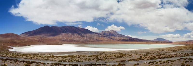 Blanca de Salar de Uyuni Laguna, Bolivie images libres de droits