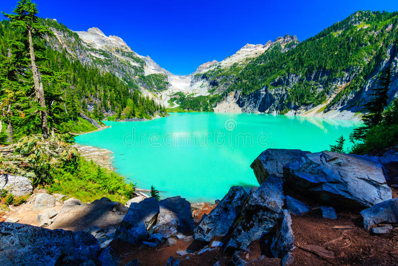 Blanca jezioro fotografia royalty free