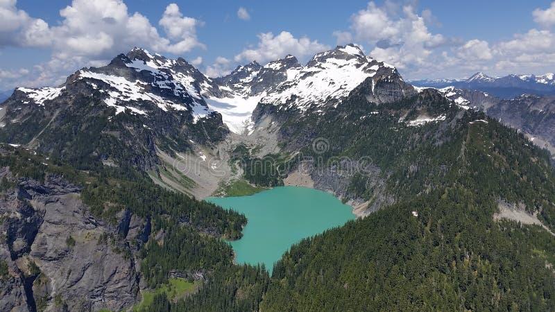 Blanca Lake foto de archivo libre de regalías
